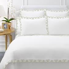 duvet covers green and white sweetgalas