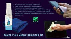 Power Plus #Mobile <b>Sanitizer</b> Kit #<b>Screen</b> Cleaning #Kit for <b>Laptops</b> ...