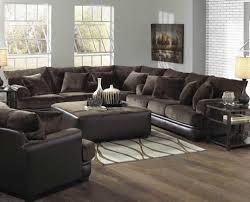 Living Room Furniture Sectionals Living Room Furniture Sectionals With Awesome Brown Living Room