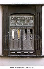Cigarette Vending Machines Uk Interesting Cigarette Vending Machine England Uk Stock Photo 48 Alamy