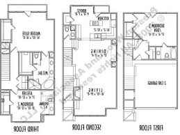 three story house plans in india y for small lots design with