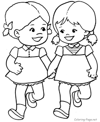 Small Picture Coloring Page Coloring Pages Of Children Coloring Page and