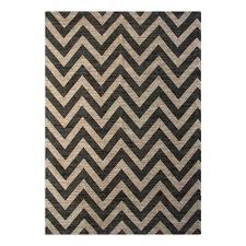 chesapeake merchandising chevron grey 5 ft x 7 ft indoor area rug
