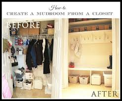 how to create mudroom closet