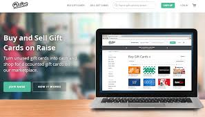 raise selling gift cards