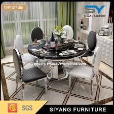 european style chinese antique furniture round dining table