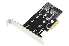 DIGITUS <b>M.2 NGFF</b> / NVMe SSD <b>PCI Express</b> 3.0 (<b>x4</b>) Add-On Card