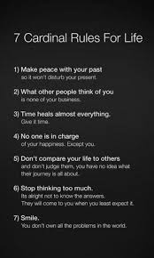 Project Gallery Beautiful Words Pinterest Life Rules Quotes Amazing 7 Rules Of Life Quote