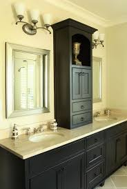 bathroom storage between sinks. cabinet between sinks in master i want to do thisnot bathroom storage pinterest
