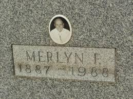 merlyn floyd jackson 1887 1988 a grave memorial merlyn floyd jackson