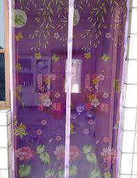 summer door curtain magic mesh mosquito curtain printed magic mesh screen door mosquito net magnetic anti