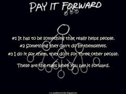 Pay It Forward Quotes