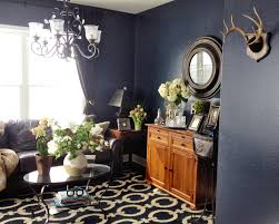 witching home office interior. Love The Textured Dark Blue Walls In Benjamin Moore Witching Hour (2120-30) Home Office Interior T