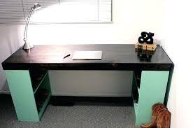 office desk blueprints. Homemade Office Desk View In Gallery With Bookshelf Legs  Ideas . Blueprints I