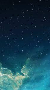 Galaxy Iphone Dark Blue Wallpaper ...