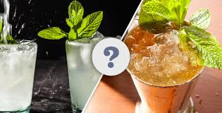 The Vs Mojito - Julep What Chowhound Mint Difference Is