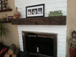 Midwood Designs Rustic Fireplace Mantel Shelf U0026 Reviews  WayfairFireplace Mantel