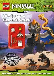 LEGO Ninjago: Ninja vs Constrictai Activity Book with Minifigure: NA:  9780723270492: Amazon.com: Books