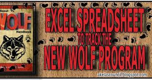 Wolf Advancement Chart Akelas Council Cub Scout Leader Training Excel Advancement