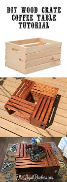 coffee table coffeeble crate wine dimensionscratebles and end diy