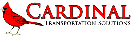 cardinal logo with red text