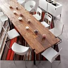 long wood dining table: reclaimed wood dining table i like the large uneven planks