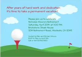 retirement flyer template free golf retirement flyer template party templates free premium ianswer