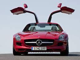 2011 Mercedes Benz Sls Amg Gullwing Red Front Door Open Picture Mercedes Benz Sls Mercedes Benz Sls Amg Mercedes Sls