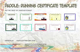 Fun Run Certificate Template Finisher Certificate Template Bpeducation Co