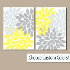 yellow canvas wall art yellow and gray canvas wall art astonish yellow gray wall or prints yellow canvas wall art