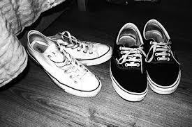 converse vs vans. image by rich bitch ♔ ♛ ♕ converse vs vans h