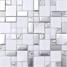 Modern Mosaic Tile Backsplash