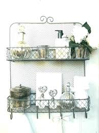 wire wall shelf wire wall shelf mounted shelving unit vintage for bathroom shabby chic with hook wire wall shelf