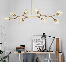 hanging pendant lighting. New Lindsey Adelman Globe Branching Bubble Chandelier Glass Suspension Hanging Pendant Light Lamp 1/5/7/8 Heads Lighting