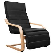bentwood arm chair adjule wooden recliner lounge fabric