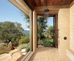 outdoor shower ideas how to choose the best material garden 3 20