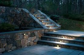 outdoor stairway lighting. Outdoor Step Lighting Led Garden Lights Stair Light Kit Stairway Images About On . N