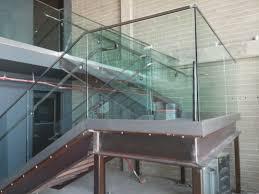 glass stair railing installation long beach