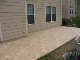 outdoor patio tiles over concrete
