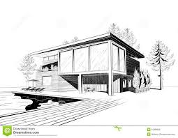 Architecture Houses Sketch   skullcamp coArchitecture Houses Sketch With Excellent Modern Home Architecture Sketches On Home Design With