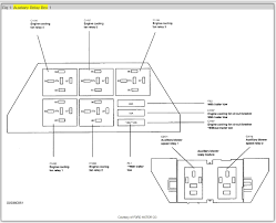 2005 ford star fuse box diagram 2005 image fuse box diagram electrical problem 2005 ford star 6 cyl two on 2005 ford star fuse