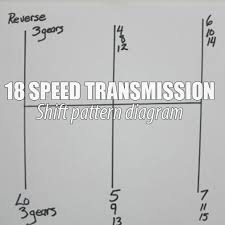 18 Speed Shift Pattern Unique How To Shift An 48 Speed Transmission Pacific Shores Trucking