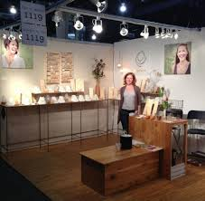 spruce jewelry trade show booth