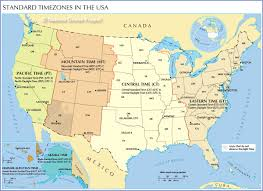 Time Map Time Zone Map Of The United States Nations Online Project
