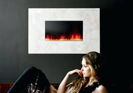 full image for mirrored wall mount fireplace tuesday morning mirror finish wall mounted electric fireplace x