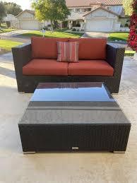 Urban table is a new restaurant concept from chef tai. 495 Harmonia Living Urbana Loveseat And Coffee Table W Sunbrella Cushions Nextdoor