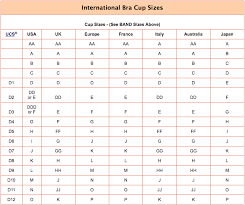 Band Size And Cup Size Chart How To Measure Bra Size For Perfect Bra Onlinespunky