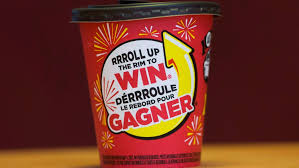 On our way there we had met a family of raccoons, one with a tim horton cup stuck on its nose! Tim Hortons Trims Rim From Iconic Contest With All Digital Roll Up To Win Ctv News