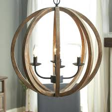 wood sphere chandelier birch 4 light globe reviews lane and chrome barrel wood sphere chandelier inspirational