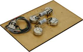 les paul wiring harnesses pre wired les paul long shaft wiring kit